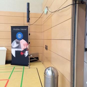 WLAN-Antenne für besten Indoor-Empfang.